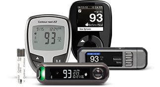 Diabetes Blood Glucose Meters And Test Strips Contour Next