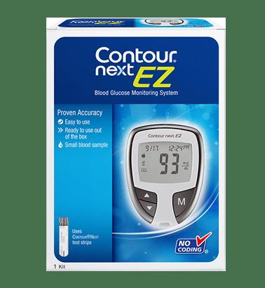 Free Contour Next EZ Blood Glucose Meter | Contour Next