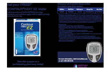 Contour Next EZ Blood Glucose Meter | Contour Next